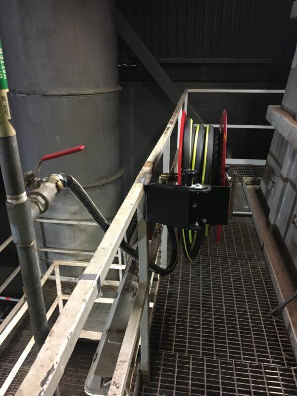 Slangrullar - Industrislangrullar